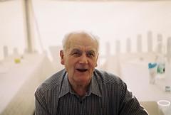 (MilkyAir) Tags: portrait people film analog iso200 polska grandpa schlecker prakticamtl3  milkyair
