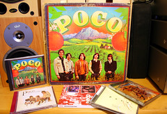 Poco - Poco (1970) & CD selection (Jay Tilston) Tags: album vinyl poco 33rpm countryrock