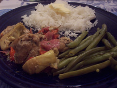 Serving Supper