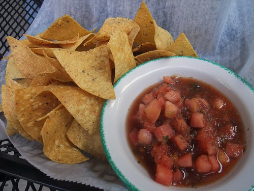 Chips and Salsa from Banana Bean Cafe