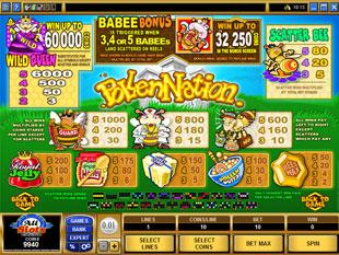free Pollen Nation slot bonus game