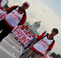 Security (Oliver J. Fall) Tags: thailand bangkok redshirts udd