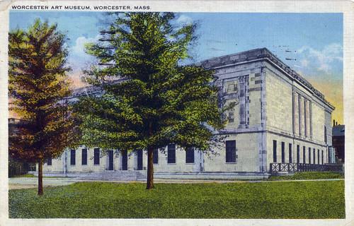 Worcester Art Museum Postcard