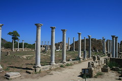 Columns at Ancient Salamis