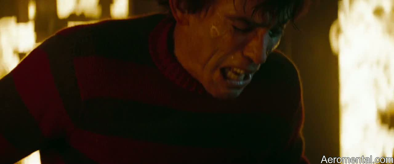 Freddy Krueger se quema