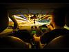 Scotty, I need warp speed in 3 minutes or we're all dead! (Craigyc) Tags: lightspeed startrek nikon d90 1020 sigma night long exposure trails traffic urban light ford fiesta dashboard blur ultrawide star trek lolz abcgroup