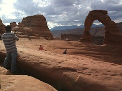 Photography at Delicate Arch