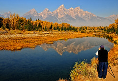 A Shooter at Schwabacher (Jeff Clow) Tags: autumn fall photography bravo photographer searchthebest seasonal explore shooter tetons frontpage grandtetonnationalpark schwabacherlanding jacksonholewyoming jeffrclow