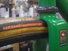 Too tight (Keith Anderson Cycles) Tags: bicycle painting paint bikes restoration custom coolest keithanderson