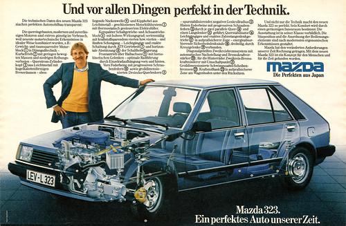 mazda 323 (1980) - a photo on flickriver