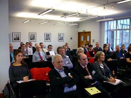 Audience at RIBAforum09