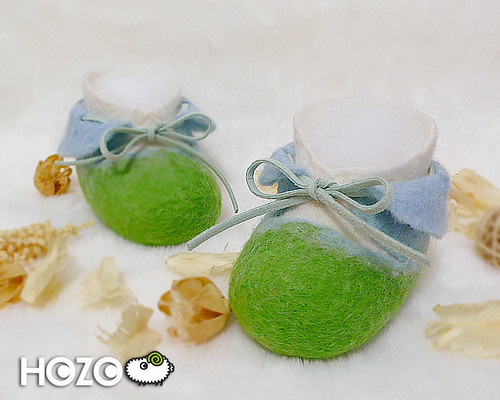 Baby Blue baby shoes