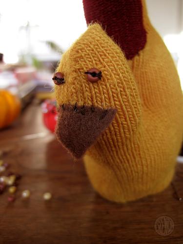 Mr. Turkey's lookin' like he had a few too many.