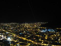 Mirada a Zacatecas de noche