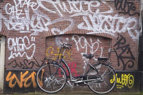Mobile Social Amsterdam: Graffiti