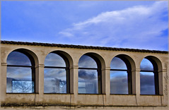 Blu riflesso (Cleto Azzarelli) Tags: interesting blu cielo convento umbria