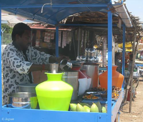 Porridge vendor