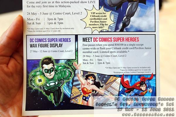 DC Comics Super Heroes - Pavilion KL-09