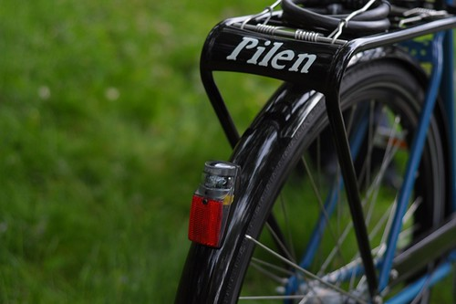 Pilen Rear Rack, Handpainted
