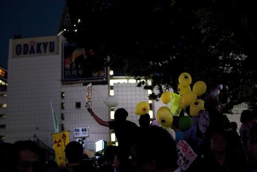 6.11 NO NUKES Shinjuku Tokyo 03