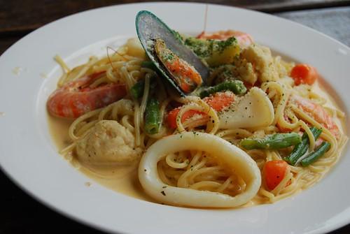 海鮮義大利麵