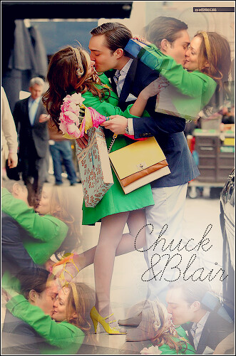 Chuck and Blair 'I Love You, Too' - Ed Westwick and Leighton Meester