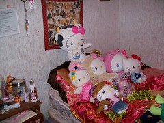 Some Of My Collection ( Veronica ) Tags: japan hellokitty plush sanrio tokidoki