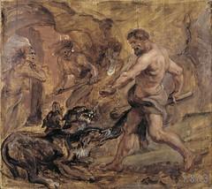 Rubens: Hercules taming Cerberus (or Kerberos) (petrus.agricola) Tags: madrid dog chien cane museum del paul musée perro peter hund prado museo rubens nacional hercules herkules kerberos cerberus herakles heracles