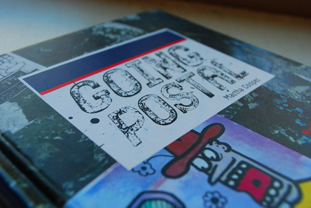 Martha Cooper's postal sticker book Going Postal book cover