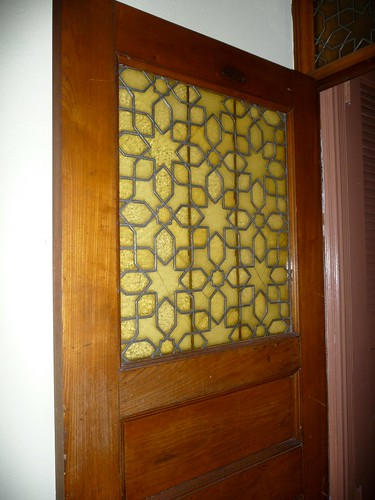 Tiffany Glass Door