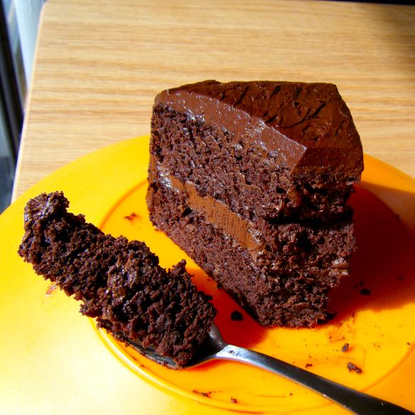 Flourless Chocolate Cake With Black Beans