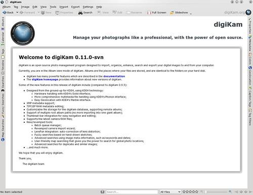 digiKam - digiKam digest - 2009-05-24