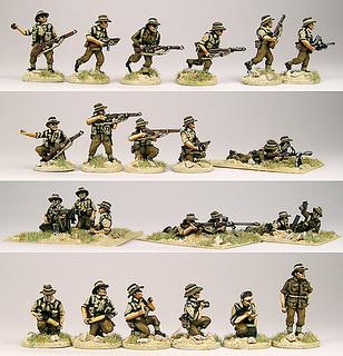 20mm Warmodelling Australian Infantry (TOBRUK)