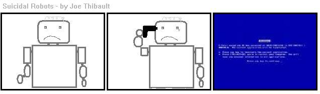 Suicidal Robots 1