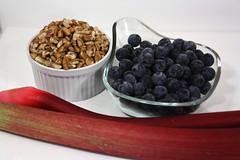 blueberry pecan rhubarb