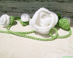 white crochet flowers necklace (2)-crop (creationsbyeve) Tags: white flower fashion necklace europe handmade crafts crochet greece homemade trendy fancy romantic handcrafted lariat etsy girlie artisan crafting florets handmadegifts handcraftedgifts europeanstreetteam creationsbyeve etsygreekteam