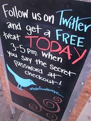 Twitter marketing at Wholefoods