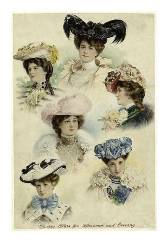 004- Sombreros de tarde y noche 1902