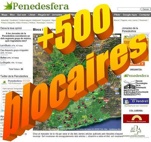 +Mig miler de blocaires a la Penedesfera