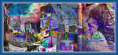 Weekend Triptych (Tim Noonan) Tags: portrait urban colour art window face collage digital photoshop poster effects construction triptych path violet machine manipulation legacy mosca renewal obscure treatment grocers abigfave theunforgettablepictures stealingshadows sharingart awardtree stealingshadowa graphicmaster miasbest daarklands flickrvault trolledandproud magiktroll