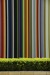 Candy stripes (The Green Album) Tags: paris colour art buildings office candy stripes ladefense installation abigfave platinumphoto theunforgettablepictures