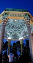 بهار 88/ حافظیه (tookaatak) Tags: shiraz ایران قبر غروب فارس سنگ سفر حافظ زیارت شاعر شیراز فال کاشیکاری