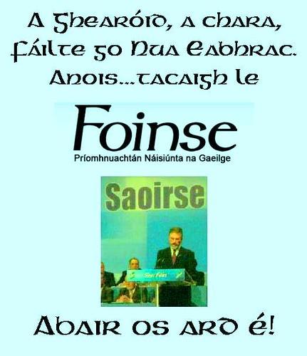 TACAIGH LE FOINSE!!!!