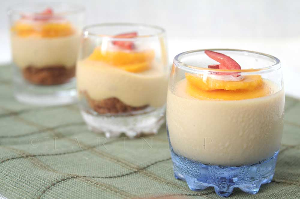 Apricot mousse cake 2