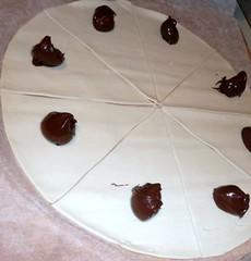 croissant nutella