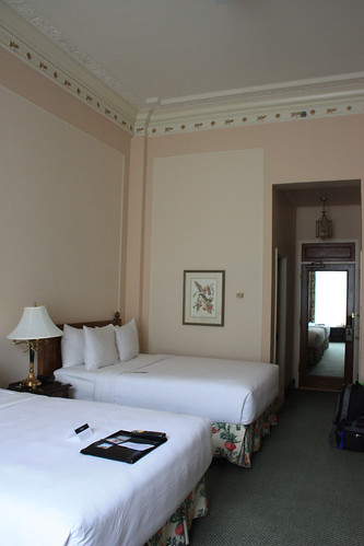 Our room at The Fairmont Empress in Victoria