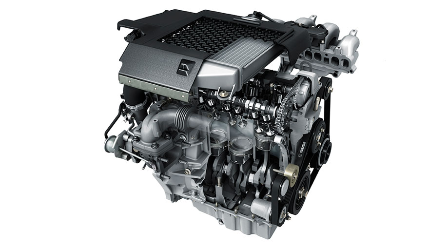 DISI turbocharged engine 2.3L 263 hp