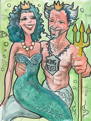 Harvey & Daphne Keitel Mermaids