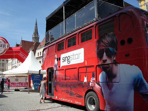 Donauinselfest - The SingStar Bus