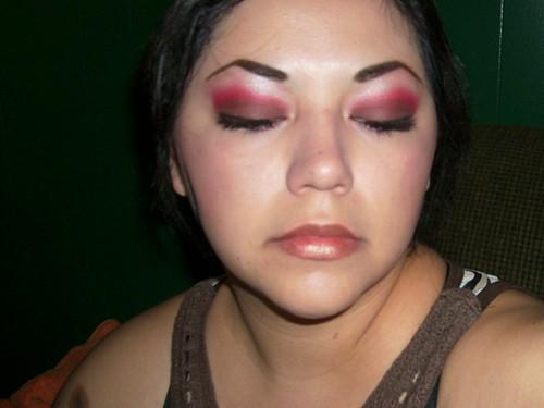 Red & Brown Eyeshadow